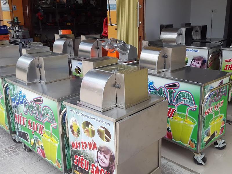 máy ép mía Sài Gòn