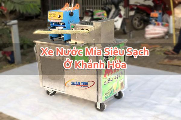 Xe Nước Mía Siêu Sạch Ở Khánh Hòa