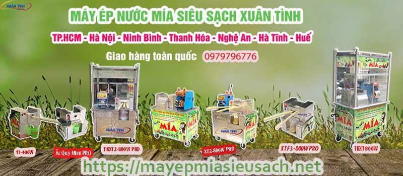 Các mẫu sản phẩm xe nước mía siêu sạch tại huyện bình chánh