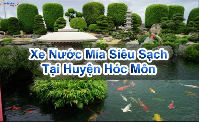 Xe Nước Mía Siêu Sạch Tại Huyện Hóc Môn