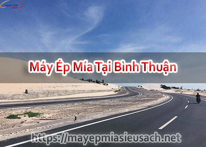 Máy Ép Mía Tại Bình Thuận