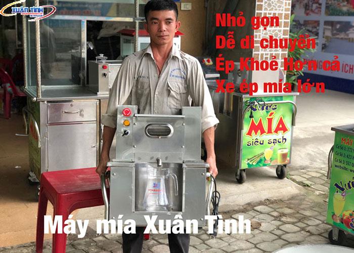 Máy Ép Mía Siêu Sạch Mini Giá Bao Nhiêu?