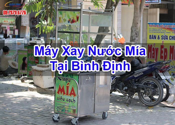 Máy Xay Nước Mía Tại Bình Định