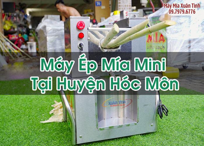 Máy Ép Mía Mini Tại Huyện Hóc Môn