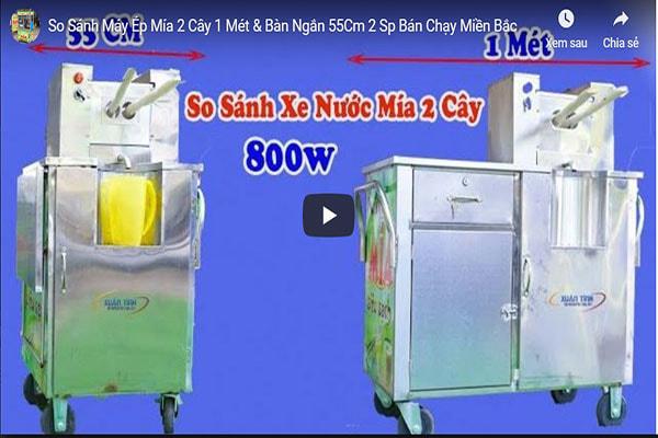 So Sanh May Ep Mia 2 Cay 1 Met Ban Ngan 55cm 2 Sp Ban Chay Mien Bac