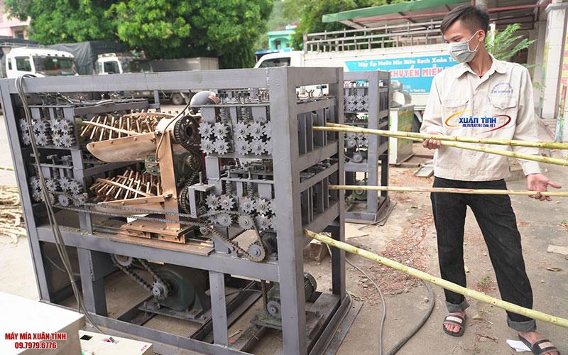 Cách Thức Đặt Hàng Và Mua Bán Máy Cạo Mía Của CTY Xuân Tình Sài Gòn
