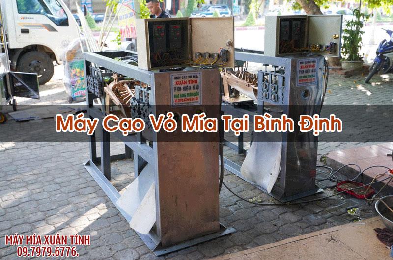 Máy Cạo Vỏ Mía Tại Bình Định