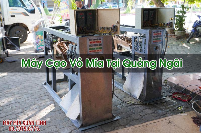 Máy Cạo Vỏ Mía Tại Quảng Ngãi