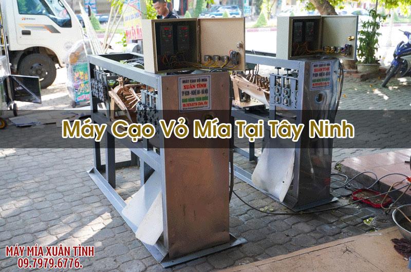 Máy Cạo Vỏ Mía Tại Tây Ninh