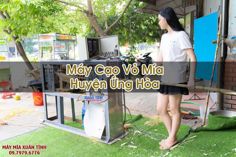 Máy Cạo Vỏ Mía Tại Huyện Ứng Hòa
