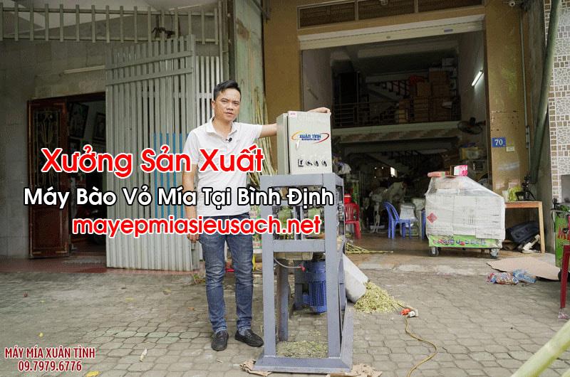 Máy Bào Vỏ Mía Tại Bình Định