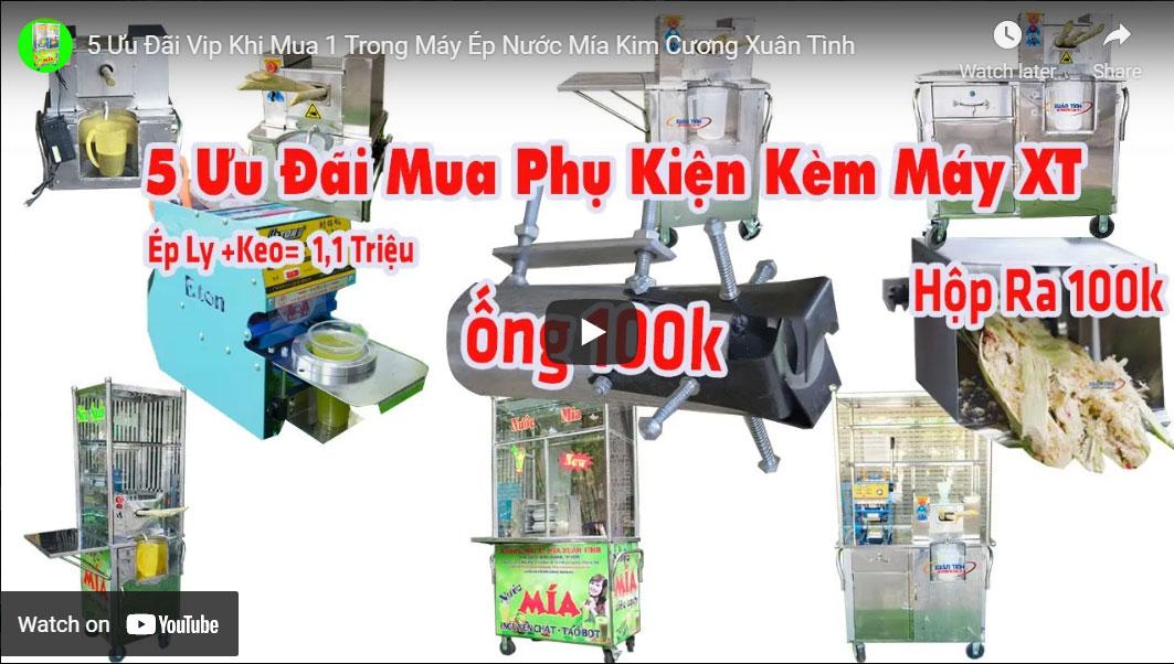 5 Uu Dai Vip Khi Mua 1 Trong May Ep Nuoc Mia Kim Cuong Xuan Tinh