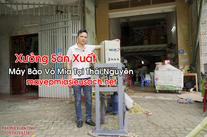 Máy Bào Vỏ Mía Tại Thái Nguyên